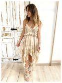 Chic Cream Dress